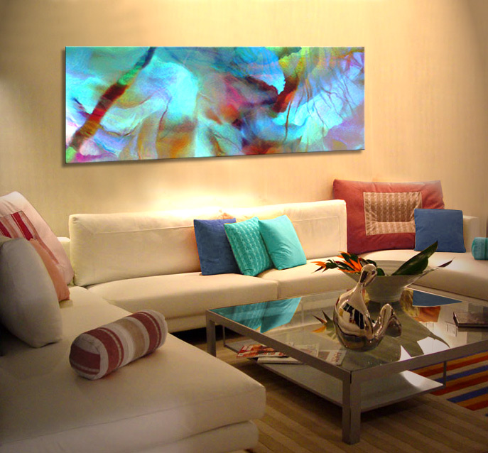 Painting canvas ideas for living room